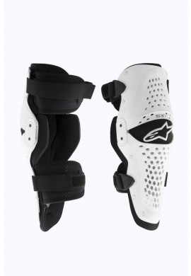 Alpinestars SX1 Knee Guard White Black