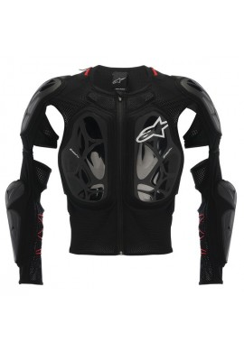 Alpinestars Bionic Tech Jacket Black White Red