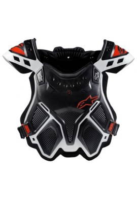 Alpinestars A10 BNS Chest Protector Black Red