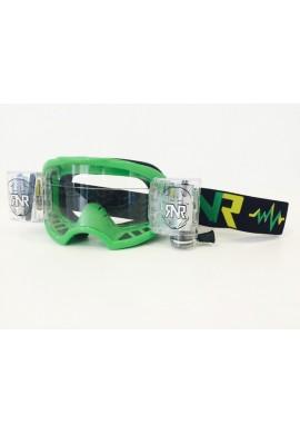 RNR Colossus Goggles WVS Green