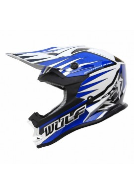 Wulf Cub Advance Helmet - Blue