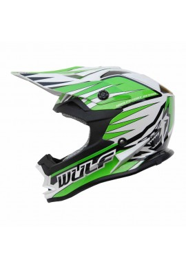 Wulf Cub Advance Helmet - Green