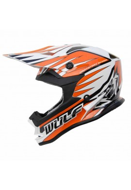 Wulf Cub Advance Helmet - Orange