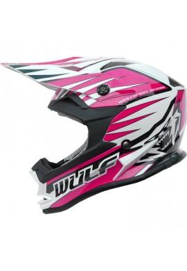Wulf Cub Advance Helmet - Pink