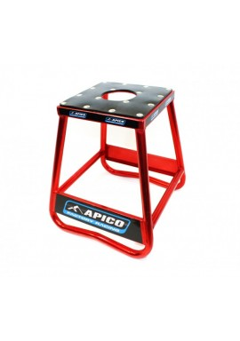 Apico Factory Racing Pro Aluminium Bike Stand - Red