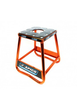 Apico Factory Racing Pro Aluminium Bike Stand - Orange
