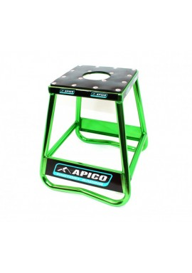 Apico Factory Racing Pro Aluminium Bike Stand - Green