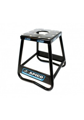 Apico Factory Racing Pro Aluminium Bike Stand - Black