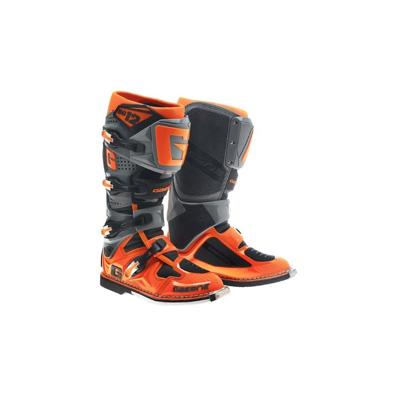 2016 Gaerne Sg12 Motocross Boots Orange Black Puremx