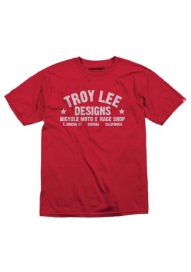 Troy Lee Designs T-Shirt - Shop Red