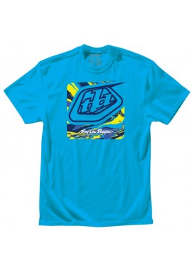 Troy Lee Designs T-Shirt - Galaxy Turquoise