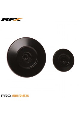RFX Pro Engine Timing Plug Set (Black) Honda CRF150 07-16 CRF250 10-16 CRF450 02-16 CRFX450 05-16
