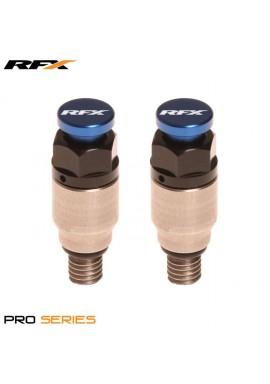 RFX Pro Fork Air Bleeder2 M5x0.8 (Stainless/Blue) Kayaba/Showa