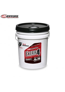Maxima 4T Extra 4 100% Ester Synthetic (SAE 10w40) 19 Litre (Each)
