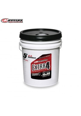 Maxima 4T Extra 4 100% Ester Synthetic (SAE 10w60) 19 Litre (Each)