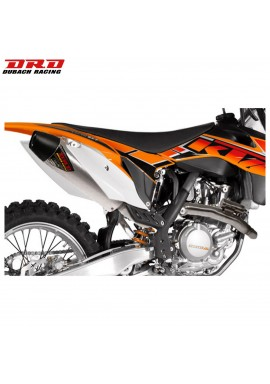 DRD Exhausts Full NS-4 System Stainless/Aluminium KTM SXF250 13-14