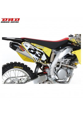 DRD Exhausts Full NS-4 System Stainless/Aluminium Suzuki RMZ450 08-14