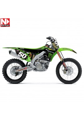 N-Style 2015 Team Pro Circuit Full Kit KX250F Retro 09-12