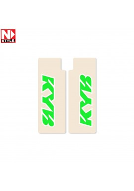 N-Style Upper Fork Decals KYB Green