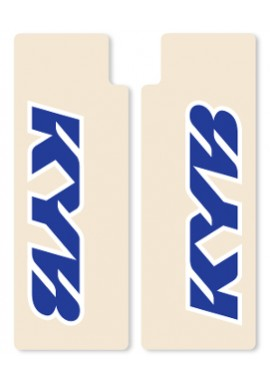 N-Style Upper Fork Decals KYB Blue