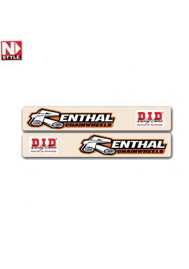 N-Style Swingarm Decals Renthal & D.I.D