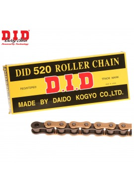 DID Chain 520 x 120 RJ Heavy Duty Gold & Black Chain