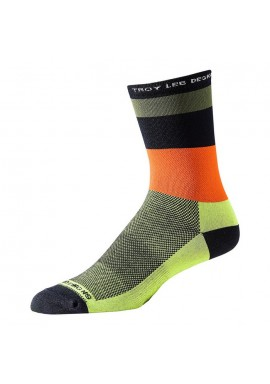 Troy Lee Designs Ace Performance Crew Socks horizon Army Green