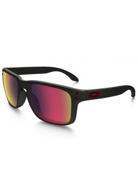 Oakley Holbrook Sunglasses Matt Black Red Iridium