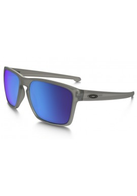 Oakley Sliver XL Sunglasses Matt Grey Ink Sapphire Iridium Polarized