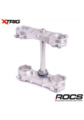Xtrig ROCS Tech Triple Clamp Set Honda CRF250 14-16 CRF450 13-16