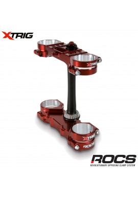 Xtrig ROCS Tech Triple Clamp Set Suzuki RMZ250 13-15