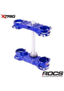 Xtrig ROCS Tech Triple Clamp Set Yamaha YZF250 12-16 YZF450 10-15