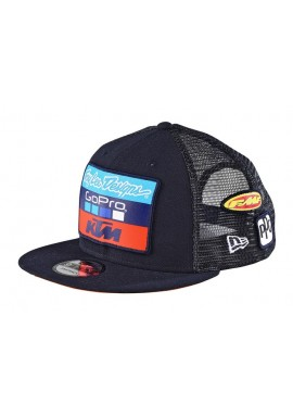 2017 Troy Lee Designs Youth KTM Team Cap Navy