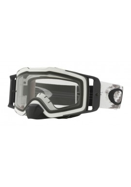 2018 Oakley Front Line Goggle Matte White- Clear Lens