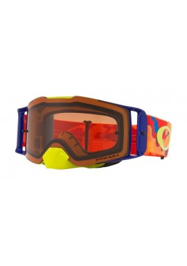 2018 Oakley Front Line Goggle Thermo Camo Orange- Prizm Bronze Lens