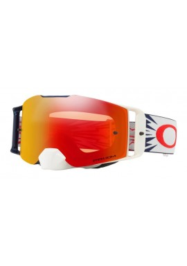 2018 Oakley Front Line Goggle High Voltage Red/Navy- Prizm Torch Iridium Lens