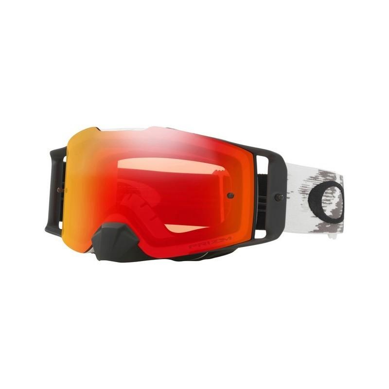 190bd78439a 2018 Oakley Front Line Goggle Matte White- Prizm Torch Iridium Lens Oakley  Factory Pilot Front Line MX Prizm Goggle - MX Alliance