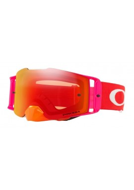 2018 Oakley Front Line Goggle Pinned Race Red/Orange- Prizm Torch Iridium Lens