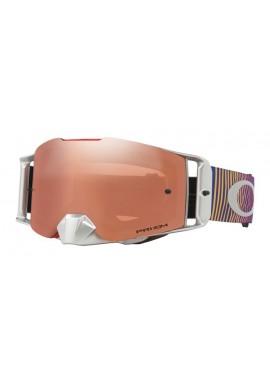 2018 Oakley Front Line Goggle Shockwave Red/Blue- Prizm Black Iridium Lens