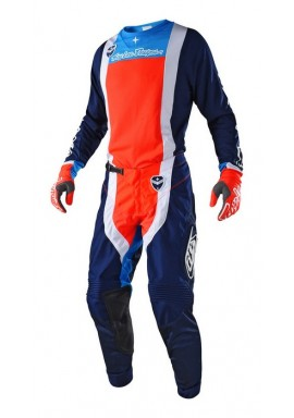 2018 Troy Lee Designs SE Squadra Navy/Orange Motocross Kit