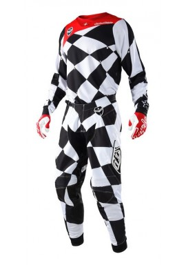 2018 Troy Lee Designs SE Joker White/Black Motocross Kit