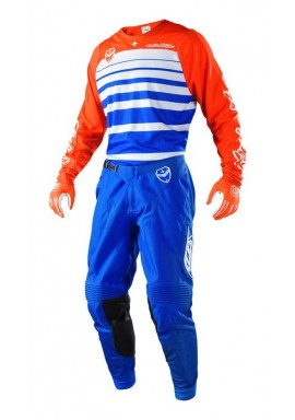 2018 Troy Lee Designs SE Streamline Blue/Orange Motocross Kit