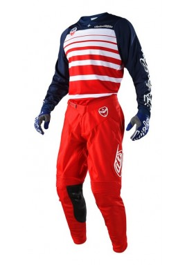 2018 Troy Lee Designs SE Streamline Red/Navy Motocross Kit
