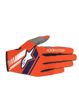 2018 Alpinestars Neo Motocross Glove Orange Flo/Dark Blue