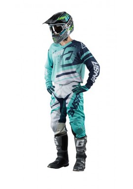2018 ANSWER A18 ELITE TEAL/NAVY MOTOCROSS KIT COMBO