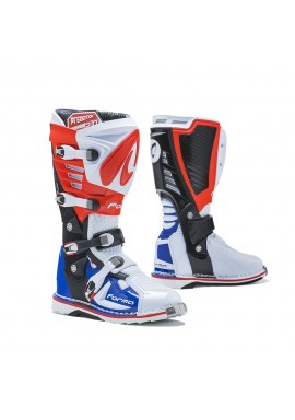 Forma Predator 2.0 Motocross Boot White Red Blue