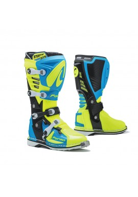 Forma Predator 2.0 Motocross Boot Light Blue Fluo Yellow