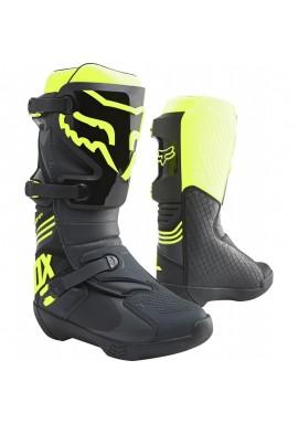 2021 Fox Comp Boot Black Yellow