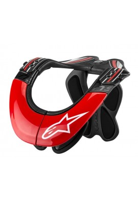 Alpinestars Tech Carbon Neck Support Black Red