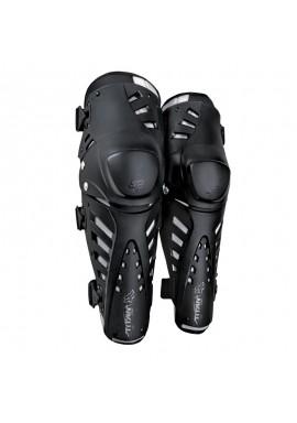 2021 Fox Titan Pro Knee/Shin Grd, Ce [Blk]